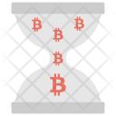 Pending Bitcoins Unconfirmed Icon