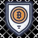 Bitcoins Security Icon