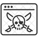 Bittorrent Ransomeware Pirate Icon