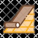 Roof Bitumen Shingle Icon