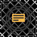 Bjt Transistor Electric Icon
