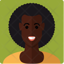 African-American woman Icon