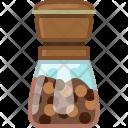 Black Mill Pepper Icon