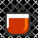 Black Coffee Tea Icon