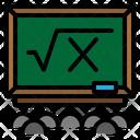 Black Board Education Icon