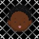 Black Boy Boy Kid Icon