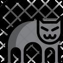 Black Cat Icon