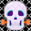 Skull Bone Skeleton Icon