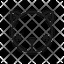 Ghost Cat Black Cat Icon