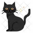 Cat Pet Animal Blackcat Belief Badluck Superstition Icon