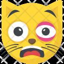 Black Eye Emoji Icon
