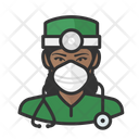 Avatar Surgeon Black Icon
