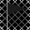 Black Flag Pointer Icon