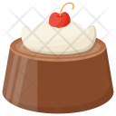 Black Forest Cake Icon