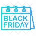 Black Friday Cyber Monday Discount Icon