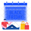 Black Friday Advertising Promotion Icon
