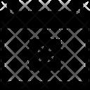 Black Friday Cyber Monday Calendar Icon