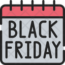 Black Friday Date Icon