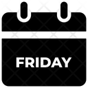 Black Friday Reminder Icon