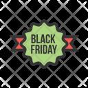 Ribbon Black Friday Icon