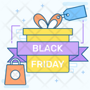 Black Friday Sale Icon