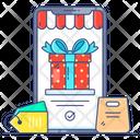 Black Friday Sale Online Shopping Ecommerce Icon