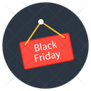 Black Friday Sale Shopping Sale Commerce Icon
