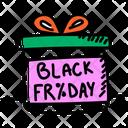 Black Friday Sales Icon