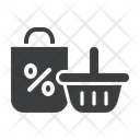 Black friday shopping Icon