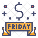 Black Friday Shopping Sale Festival Sale Icon