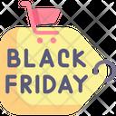 Black Friday Tag Icon