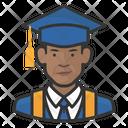 Black Graduates Male Graduates Black Icon