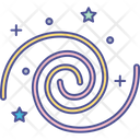 Black Hole Nebula Space Icon