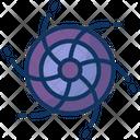 Black Hole Universe Nebula Icon