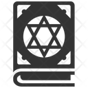 Black Magic Book Book Book Of Spells Icon