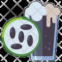 Black Malt Beer Glass Malt Icon