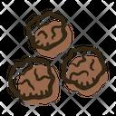 Pepper Ball Black Icon