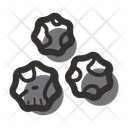 Black Pepper Pepper Ball Icon