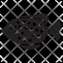 Goldfish Pet Underwater Icon