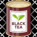 Black Tea Tin Icon