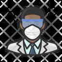 Avatar Virologist Black Icon