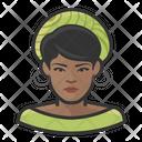 Black Woman Black Woman Icon