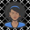 Black Woman Hair Style Black Woman Black Icon
