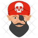 Blackbeard Pirate Icon