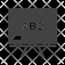Blackboard Classroom Board Icon