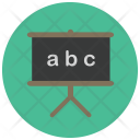 Blackboard Study Board Icon