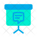 Blackboard Chat Message Icon