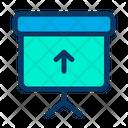 Upload Blackboard Board Icon