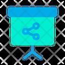 Share Sharing Blackboard Icon