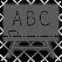 Blackboard School Education Icon